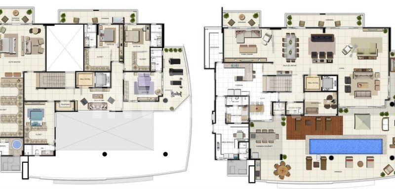 Apartamento a venda em Adrianópolis, 5 quartos - AM25001 - 18