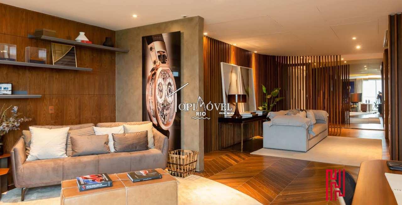 Espetacular apartamento superluxo 5 suítes na Barra da Tijuca - RJ25003 - 2