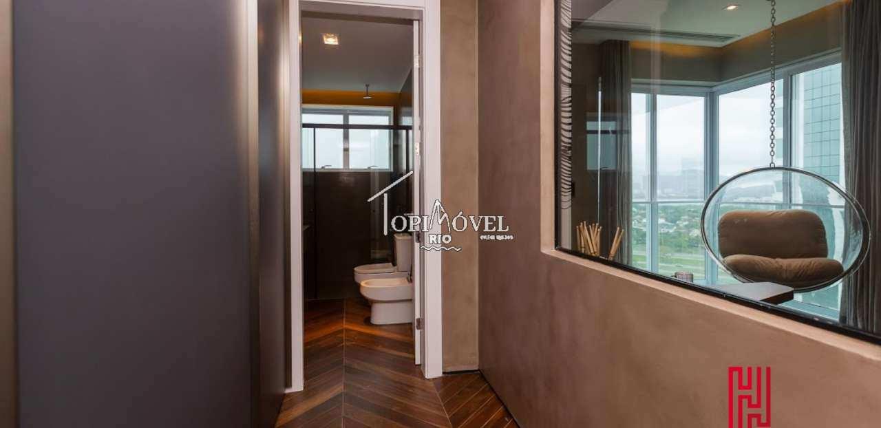 Espetacular apartamento superluxo 5 suítes na Barra da Tijuca - RJ25003 - 9