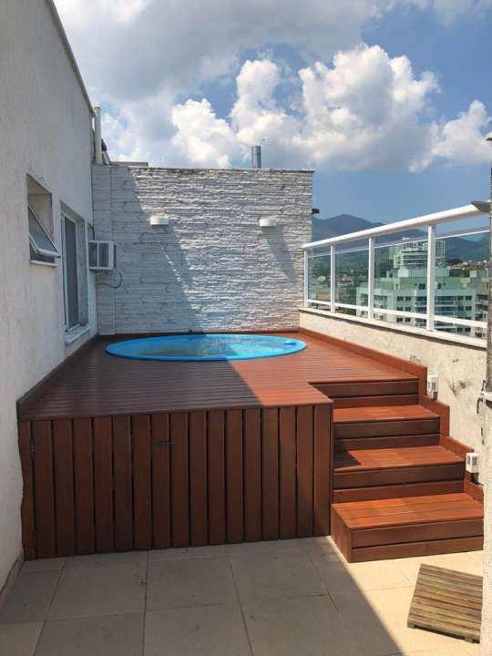Cobertura 4 quartos à venda Rio de Janeiro,RJ - R$ 512.000 - 109COB3QPECHINCHA - 4