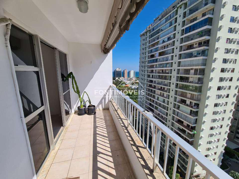 VARANDA - Apartamento 2 Quartos Barra Da Tijuca/RJ com 73 M². - 447 - 2