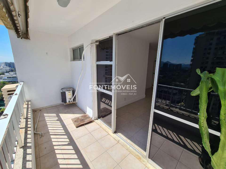 VARANDA - Apartamento 2 Quartos Barra Da Tijuca/RJ com 73 M². - 447 - 3