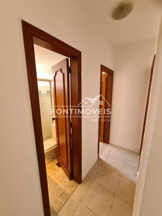 CORREDOR - Apartamento 2 Quartos Barra Da Tijuca/RJ com 73 M². - 447 - 9