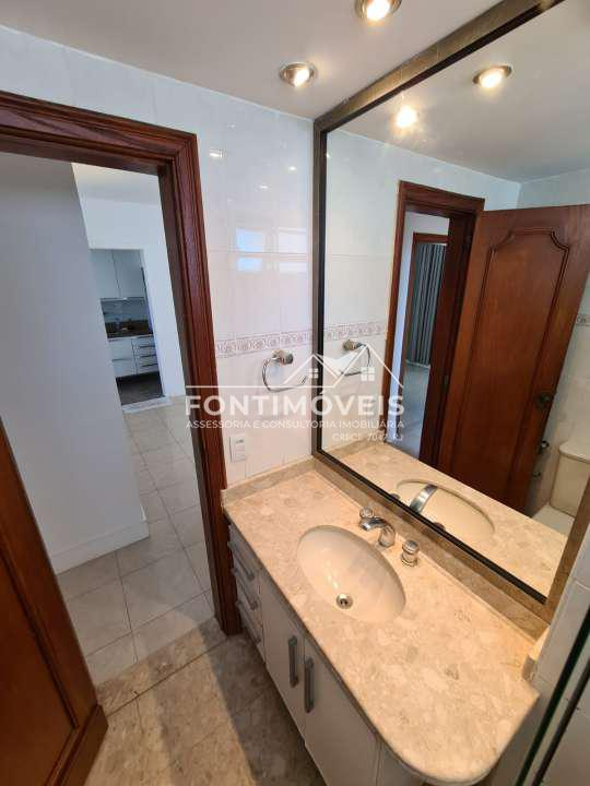 BANHEIRO SOCIAL - Apartamento 2 Quartos Barra Da Tijuca/RJ com 73 M². - 447 - 10
