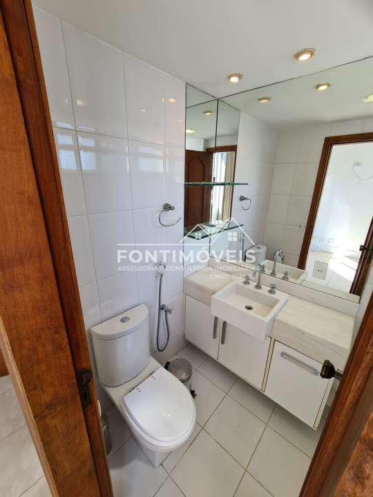 SUÍTE - Apartamento 2 Quartos Barra Da Tijuca/RJ com 73 M². - 447 - 16