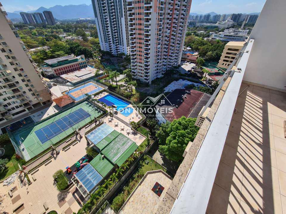 VISTA DA VARANDA - Apartamento 2 Quartos Barra Da Tijuca/RJ com 73 M². - 447 - 4