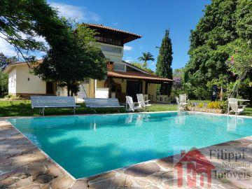 Casa de campo luxuosa 6 quartos, piscina e campo de futebol. - stjv - 1