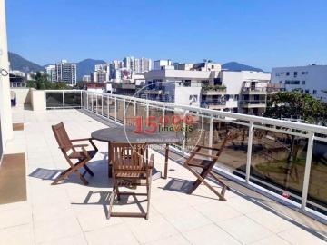 Cobertura duplex 3 quartos no Recreio dos Bandeirantes (15000-108) - 15000-108 - 1