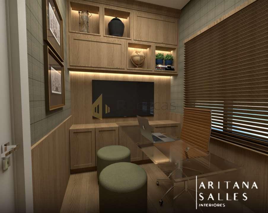 Casa em Condomínio 4 quartos à venda Residencial Quinta do Golfe, São José do Rio Preto - R$ 1.100.000 - 1212 - 12
