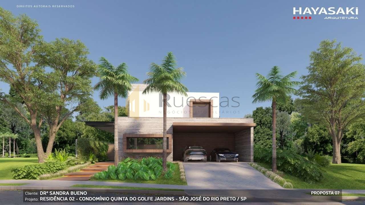 Casa em Condomínio 4 quartos à venda Residencial Quinta do Golfe Jardins, São José do Rio Preto - R$ 5.200.000 - 1226 - 3