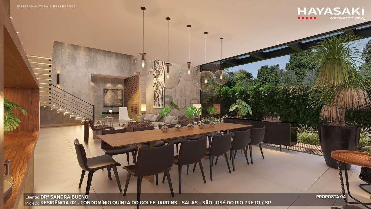Casa em Condomínio 4 quartos à venda Residencial Quinta do Golfe Jardins, São José do Rio Preto - R$ 5.200.000 - 1226 - 4