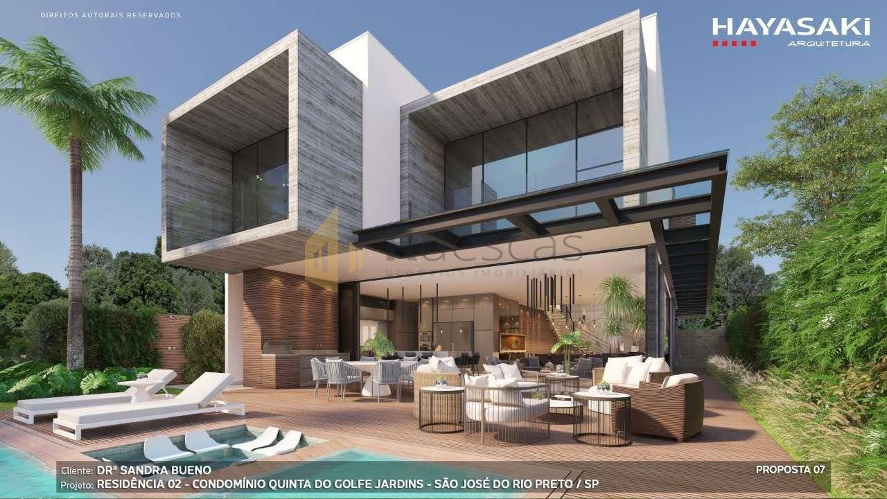 Casa em Condomínio 4 quartos à venda Residencial Quinta do Golfe Jardins, São José do Rio Preto - R$ 5.200.000 - 1226 - 2