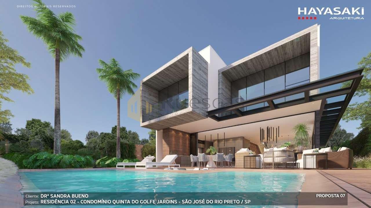 Casa em Condomínio 4 quartos à venda Residencial Quinta do Golfe Jardins, São José do Rio Preto - R$ 5.200.000 - 1226 - 1