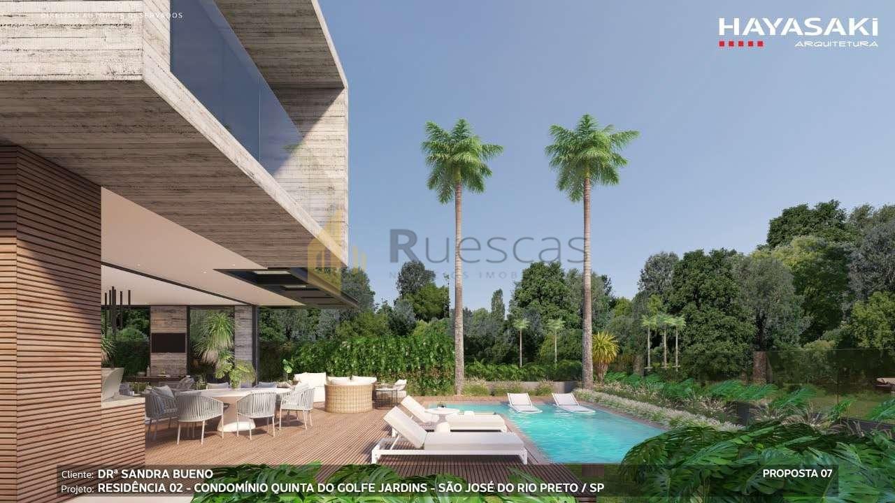 Casa em Condomínio 4 quartos à venda Residencial Quinta do Golfe Jardins, São José do Rio Preto - R$ 5.200.000 - 1226 - 5