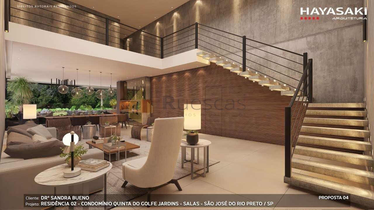 Casa em Condomínio 4 quartos à venda Residencial Quinta do Golfe Jardins, São José do Rio Preto - R$ 5.200.000 - 1226 - 6