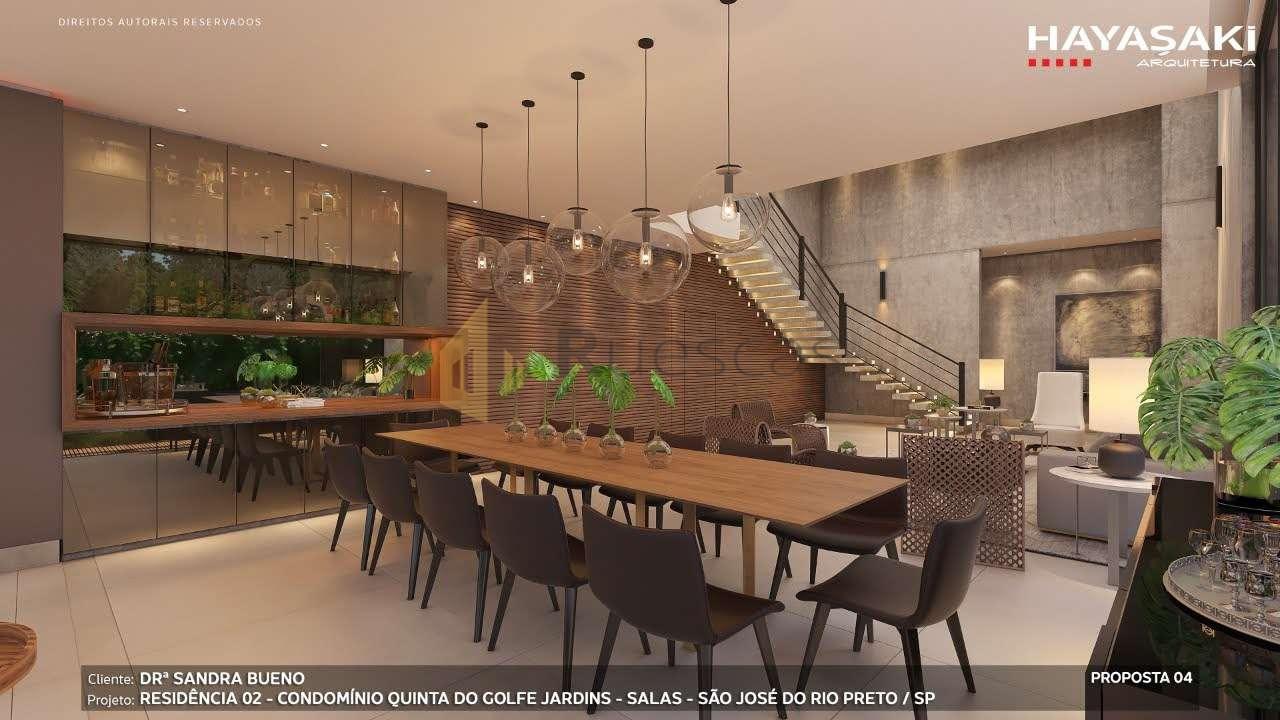 Casa em Condomínio 4 quartos à venda Residencial Quinta do Golfe Jardins, São José do Rio Preto - R$ 5.200.000 - 1226 - 7