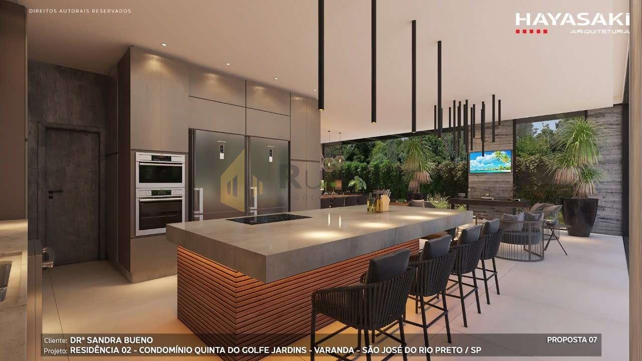 Casa em Condomínio 4 quartos à venda Residencial Quinta do Golfe Jardins, São José do Rio Preto - R$ 5.200.000 - 1226 - 8