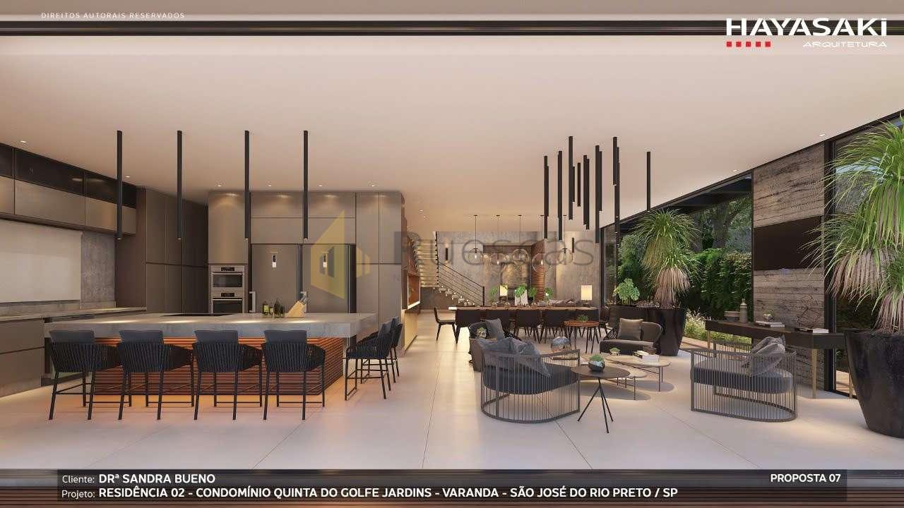 Casa em Condomínio 4 quartos à venda Residencial Quinta do Golfe Jardins, São José do Rio Preto - R$ 5.200.000 - 1226 - 9