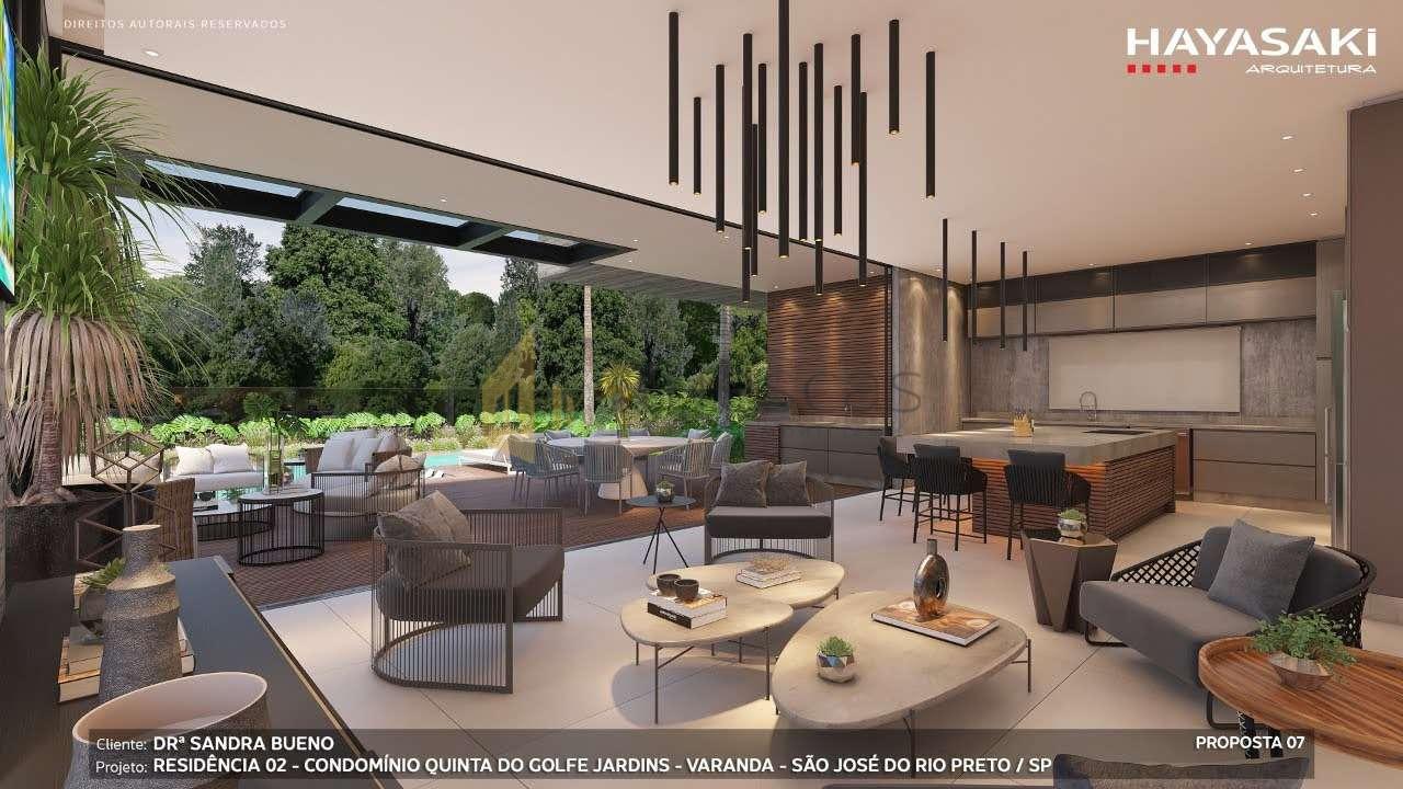 Casa em Condomínio 4 quartos à venda Residencial Quinta do Golfe Jardins, São José do Rio Preto - R$ 5.200.000 - 1226 - 10