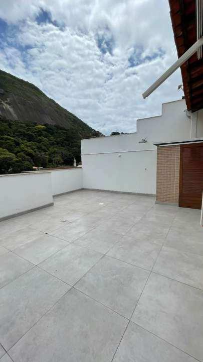 Cobertura à venda Rua Mário Pederneiras,Humaitá, Zona Sul,Rio de Janeiro - R$ 2.500.000 - MPeder - 2