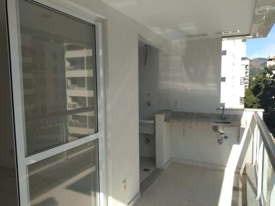 Varanda - Apartamento 2 quartos para venda e aluguel Rio de Janeiro,RJ - R$ 423.000 - JPA - 13