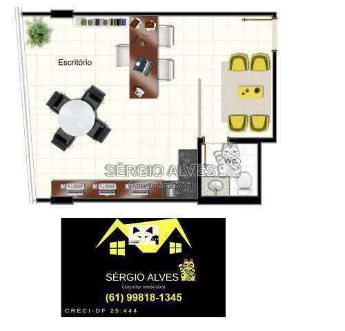 Sala Comercial 98m² à venda SCLRN 715,Brasília,DF - R$ 1.241.937 - 001GOLDEN - 18