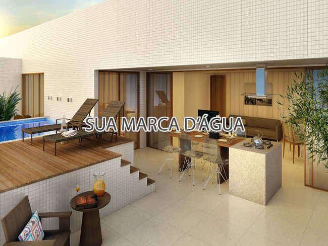 Varanda - Cobertura Rua Maestro Francisco Braga,Copacabana,Rio de Janeiro,RJ À Venda,4 Quartos,324m² - 0003 - 2