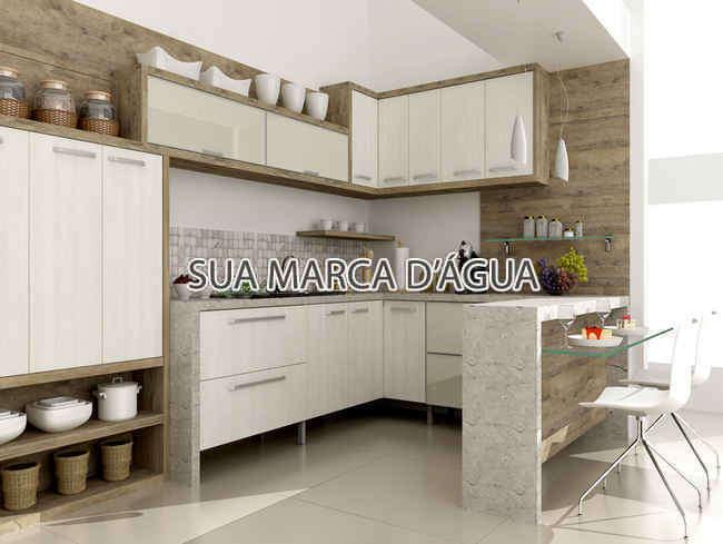 Cozinha - Casa Rua Madre Joana de Gusmão,Centro,São José,SC Para Venda e Aluguel,3 Quartos,324m² - 0015 - 8