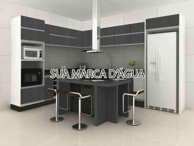 Cozinha - Casa Rua Madre Joana de Gusmão,Centro,São José,SC Para Venda e Aluguel,3 Quartos,324m² - 0015 - 6