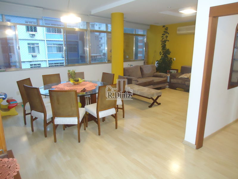 Imóvel, Apartamento, 3 quartos, amplo, 1 vaga, Fundação Getulio Vargas, FGV, metrô, barão de itambi, Rio de Janeiro, RJ - ap011190 - 1
