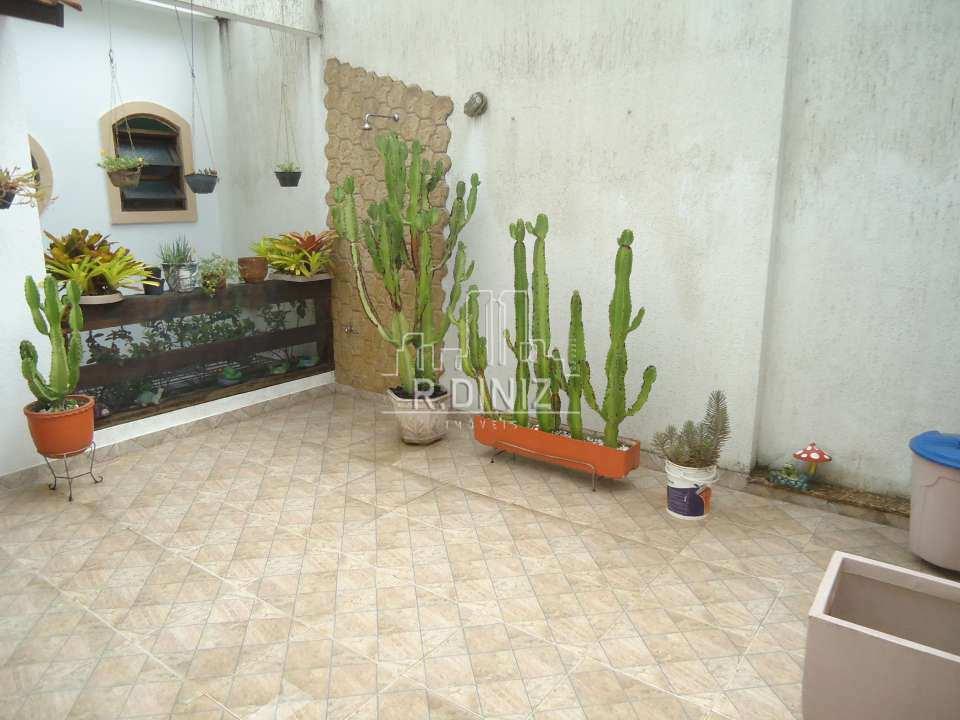 3ºandar terraço descoberto - Casa de vila triplex, rua do catete, zona sul, residencial, rio de janeiro/RJ. - im011321 - 8