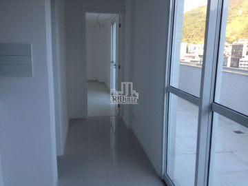 Imóvel, Cobertura Duplex, tijuca, lazer completo, prédio novo, perto metrô uruguai, 3 quartos, Rio de Janeiro, RJ - ap011163 - 7