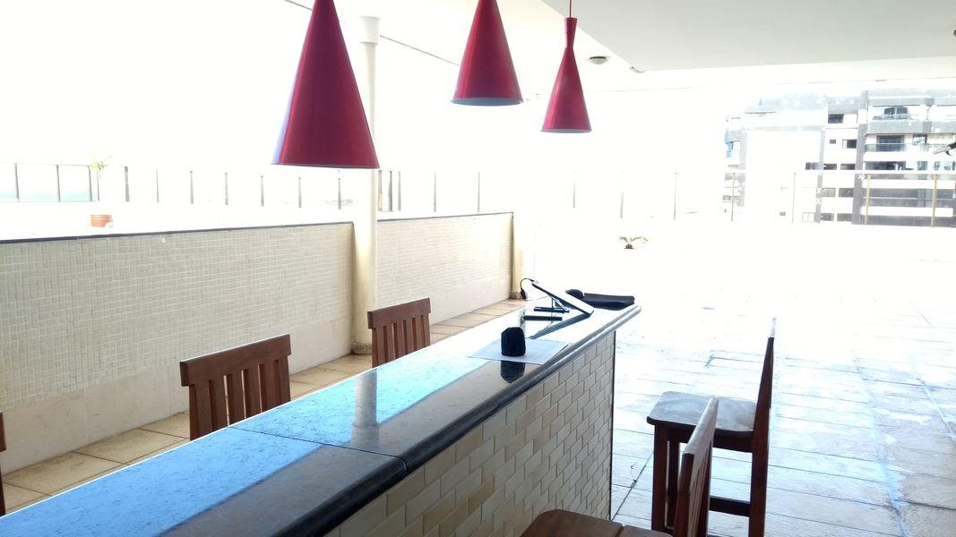Apartamento para Locação de Temporada na Orla da Praia de Itaparica em Vila Velha/ES - Todo Mobiliado, Padrão Luxo, Ótima Localização, próximo ao Shopping, Bares, Restaurantes, Supermercados. - TAPES001 - 35